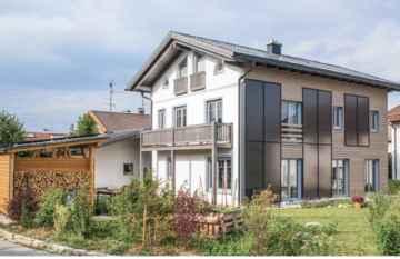 Sonnenhaus von Familie Hövel in Prien (Quelle: Sonnenhaus-Institut / Markus Aichhorn)